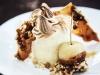 Honey Semifreddo with Italian Meringue