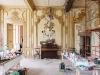 The Waters originally wanted to renovate the entire space, but after spending time in the château and being enchanted by its rustic charm, they decided to instead focus on preserving its history