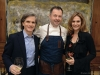 Colin Taylor, Chef David Hawksworth and Clare Sellers
