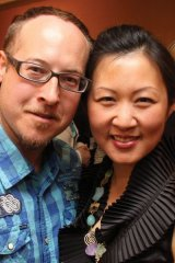 Frank Michael and his wife, Heidi Huang, (Toronto East General Hospital - Clinical Pharmacist) enjoy the event.