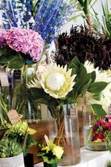 The store's finishing touches include an on-site floral shop with ready-to-go, handcrafted arrangements.