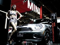 Mini Canada launch at the 2010 Toronto Auto Show.