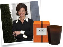 """""""X"""" marks the spot on one of the world's most exotic scents. The Nest collection of fragrances includes fragrant candles, reed diffusers, potpourri, room sprays and scented bath and body products. CEO and founder Laura Slatkin has world-class brands following her every move."""
