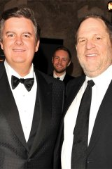 Edward Rogers and uber-film producer Harvey Weinstein