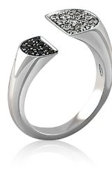 GIVE ME A RING Engage your digits in the stunning white gold creations of designer Francesca Furzi. Emerging from an Italian production process, every limited jewelry piece delicately balances tradition and innovation.