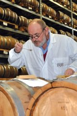 Ricordano Dodi, president of Acetaia Dodi, is relentless in his hands-on effort to produce quality balsamico.