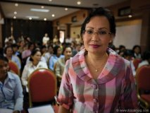 Vital Voices Global Leadership Network member Nanda Pok.