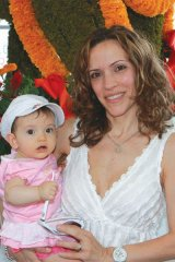 Angela Palmieri-Zerillo (director of operations and marketing,  Dolce Publishing) with daughter Allegra.