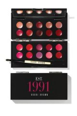 Bobbi Brown celebrates two decades in beauty with a must-have collector piece that combines the latest lip-smacking shades with its original hues from 1991. Add colour to a sky of grey with a palette that joins the past with the present.