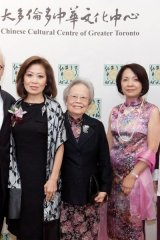 Proud supporters of Toronto's Chinese culture: Peter A. Kircher, Helen Ching-Kircher, Cheng Shuk Ming, Doris Cheung and Ming-Tat Cheung.