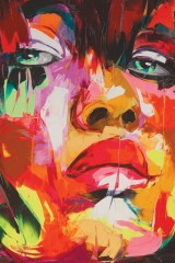 Masquerade by Françoise Nielly.
