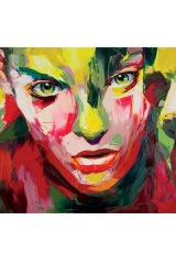 Three Faces by Françoise Nielly.