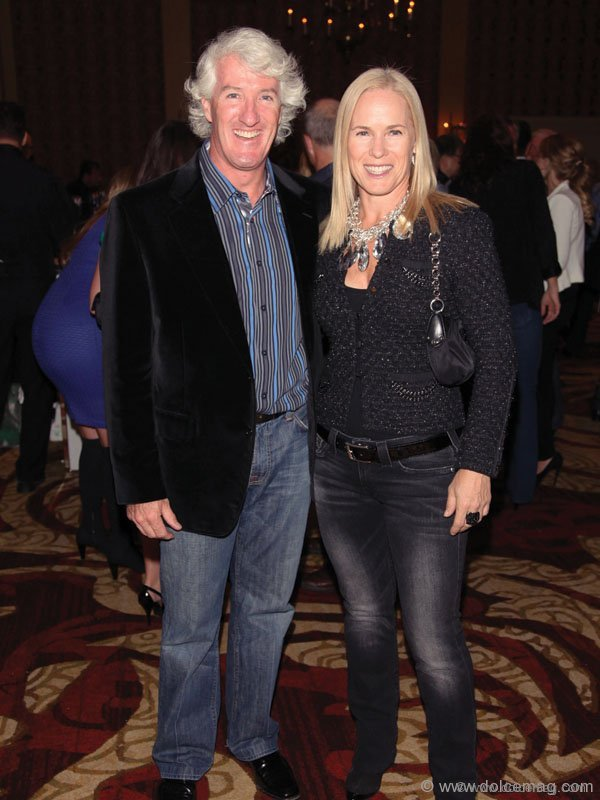 John Francis, Chair of the SickKids Foundation Board of Directors and his wife