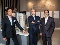 Stefano Guizzetti, Jack Scivoletto and Albert Gasparro; Grand Palace Condominiums