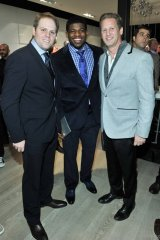 Toronto Maple Leafs' Phil Kessel, Montreal Canadiens' P.K. Subban and Ward Simmons, Photos By George Pimentel/WireImage