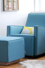 Gus Design Group Inc. certainly wasn't winging it with its ergonomic Kipling Glider and matching ottoman. www.gusdesigngroup.com
