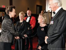 ruth ann onley wife of the lieutenant governor of ontario with the hon hilary weston