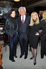 Barbara Amiel Black, Ivan Fecan and Sandra Faire / Photo by George Pimentel Photography