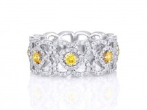 enchanted lotus band fancy yellow