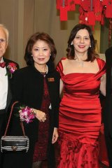 helen ching kircher with husband peter kirchersandra delzotto and husband leo delzotto