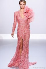 ralph and russo pink gown