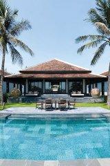 nam hai hoi an 4 bedroom pool villa exterior