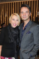 Lisa Tant of Holt Renfrew and Jeffry Roick of  McNabb Roick Events and The Carlu