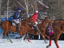 Photos Courtesy of the inaugural Snow Polo Tremblant World Cup event