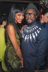 Naomi Campbell and will.i.am