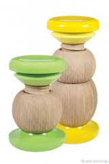 2. DECORATIVE TWIST: The high and low Sexy Doll stools by Rouge Absolu are instant conversation starters, melding a wooden toy-like appearance with handcrafted French oak. www.rougeabsolu.com