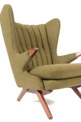 9. EDGE OF YOUR SEAT: Bring some retro style to your living space with the design-friendly Svend Skipper Model 91 lounge chair. With a wingback and teak details, it's not lacking personality. www.midcenturymobler.com