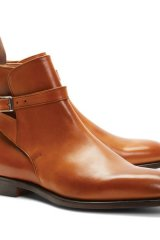 12. GET THE BOOT: Gents, don't be afraid to up your footwear game with a slick pair of designer kicks. These Peal & Co. ankle strap boots are the foundation for a stylish getup.  www.brooksbrothers.com