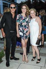 Michael Battista, Adrienne Smith and Kelly Jordan
