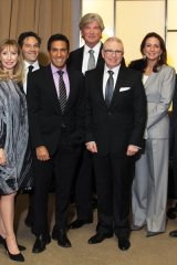 Stanley Hartt, Norton Rose Fulbright; Renee Bleeman, PearTree Financial; Norman Brownstein, PearTree Financial; Dr. Sanjay Gupta; Douglas Brown, Newport Private Wealth; Ron Bernbaum, PearTree Financial; Marilyn Anthony, PearTree Financial; Peter Fink, Kensington Capital Partners; Catherine McCormack, Hype Consulting