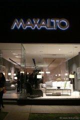 The Maxalto showroom