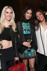 Jisun Kim, two guests, Touriya Haoud, Hanane Thompson and Parisa Fowles-Pazdro