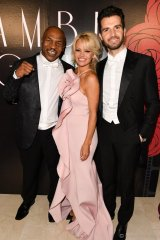 Mike Tyson, Pamela Anderson and Andrea Iervolino