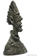 This stunning sculpture conceived in 1954 by famous Swiss surrealist artist Alberto Giacometti is slated to be sold for millions as a part of Mrs. Sidney F. Brody's private collection.