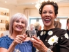 Guest celebrating with Noreen Meijias-Bennett (right)