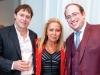 David Barry, Azita Hekmati; Miele Business Development Manager and Joshua Lax; Vice President, Development of Mizrahi Developments