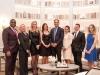 The Mizrahi Developments' Ottawa team; Derek Nzeribe, Anna D'Aoust, Tamira Kollar, Cailey Clow, Sam Mizrahi, Micki Mizrahi, Jonny Cracower and Samantha Szirtes