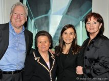 Canadian singer Robert Pilon, Angela Bertucci, Angela Feldman and Patti Pilon