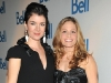 Corner Gas stars actors Gabrielle Miller and Tara Spencer-Nairn