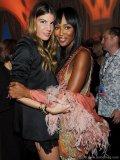 Bianca Brandolini and Naomi Campbell