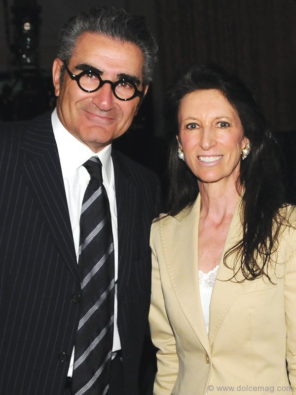 Eugene Levy and Michelle Levy