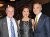 Robert Ryan (VP, Lombard Insurance), Ann-Louise Seago and Neil Morrison (president/CEO, HKMB HUB International)
