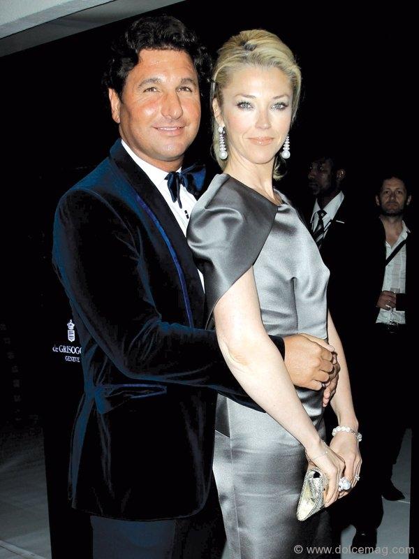 Giorgio Veroni and socialite Tamara Beckwith