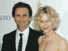 Producer Lawrence Bender and actress Meg Ryan