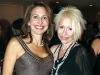 Harriet Goodman and performer Anita Rossi