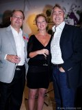 The creator of Heart of Fashion and chairman of Orlando Corporation Carlo Fidani with Terry Pursell and Chris Tambakis